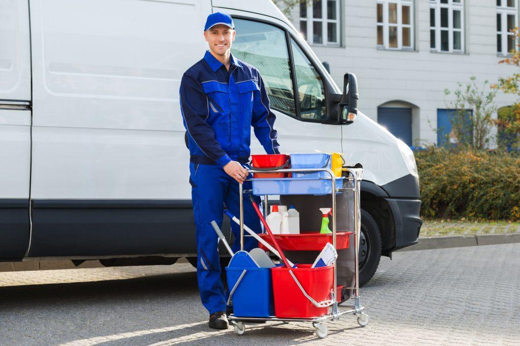 Hausmeisterdienste, Gebäudereinigung und Entrümpelungen in NRW.